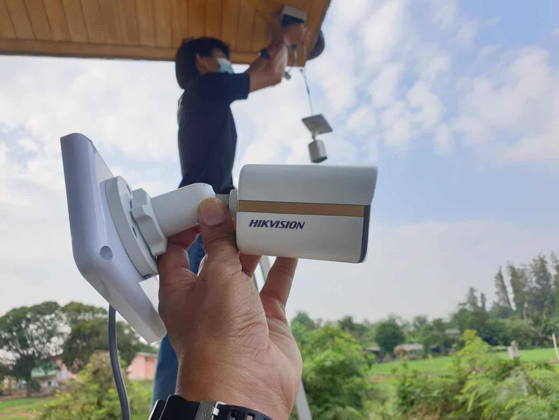 งานติดตั้งกล้องวงจรปิดนครปฐม Msc CCTV