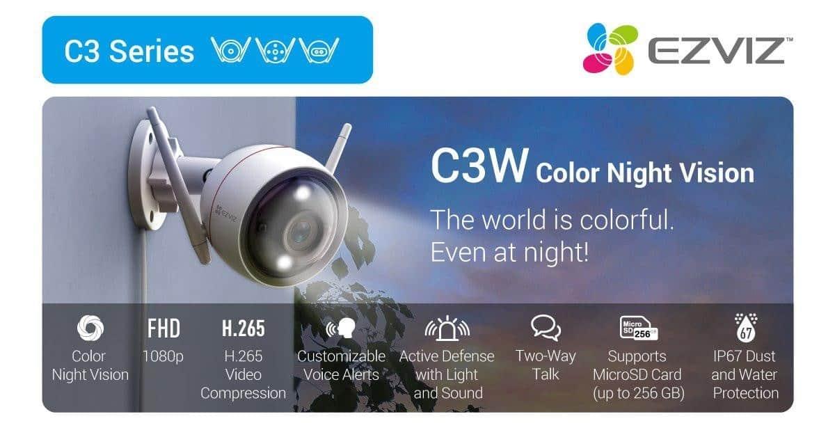 Ezviz C3 Series c3w